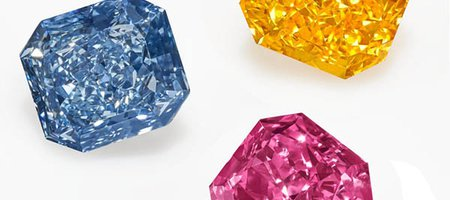 'The Perfect Palette' of Colored Diamonds to Be Featured at Christie's NY
